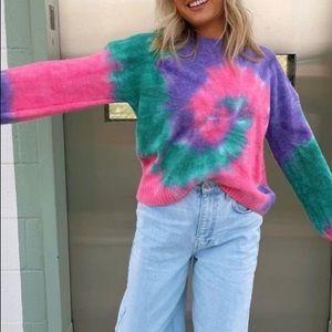 Multicoloured Knit Sweater